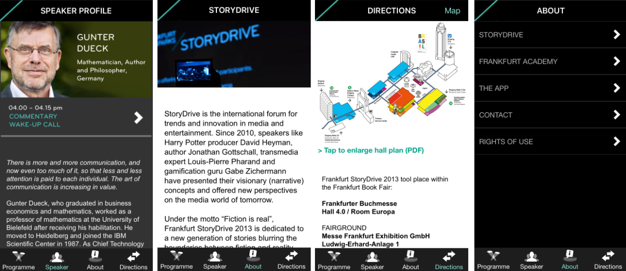StoryDrive Conference Guide and Reader